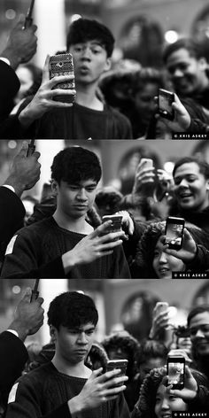 calum is me when I take a selfie