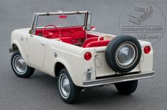 My face just went wow----International Scout International Harvester 1964 Scout International Harvester 1964 Scout red carpet gas tank