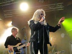 Picture by Pia (a fan) - #bonnietyler #gaynorsullivan #gaynorhopkins #thequeenbonnietyler #therockingqueen #rockingqueen #music #rock #2013 #finland #kuopio #concert #bonnietylervideo #kuopiowinefestival
