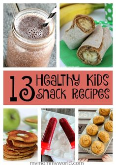 If your kids are bored with the same old snacks after school, try out these delicious and healthy kids snack recipes. They are so delicious, your kids will never know how nutritious they are!