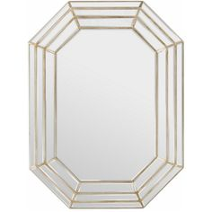 This large size mirror features a gold mdf framed with its beautiful designs and unique octagon shape. This home mirror is bound to become the focal point of any room or living space.