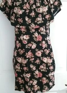 d46233c30b New Rose Floral Dress NWOT Jeffrey Campbell, Topshop, Short Sleeve Dresses,  Rose,