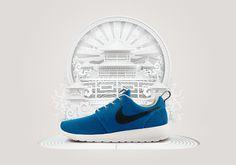AW Lab Nike Roshe Run Launch on Behance