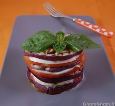 #Parmigiana di #melanzane estiva. #ricette #cibo #estate #vegetariano