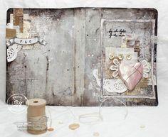 Art Journaling with Celine Reigner #artjournaling #prima #mixedmedia #journal