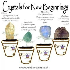 Crystals for New Beginnings