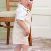 Baby and Toddler Romper Sewing Pattern - via @Craftsy