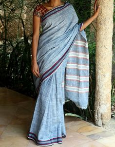 Kora by indigo saree | Shop - Malkha