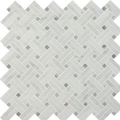 You'll love the Basketweave Polished Marble Mosaic Tile in White at Wayfair - Great Deals on all Home Improvement products with Free Shipping on most stuff, even the big stuff.