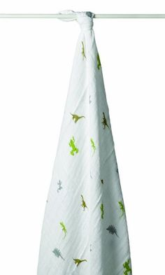 aden + anais Classic Muslin Swaddle Blanket, Dino-Roar (Discontinued by Manufacturer) aden + anais http://smile.amazon.com/dp/B001TMQ62Y/ref=cm_sw_r_pi_dp_ns3tvb1ZQ3Y15