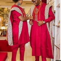 Couples African Outfits, African Dresses Men, Latest African Fashion Dresses, Couple Outfits, African Print Fashion, Africa Fashion, African Wear, African Attire, Agbada Styles