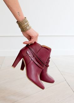 Bottines High Gabrielle - Lookbook Automne Hiver  - www.sezane.com
