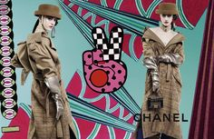 Campanha Chanel Inverno 2017 por Karl Lagerfeld
