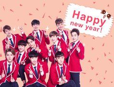 Happy New Year Exo