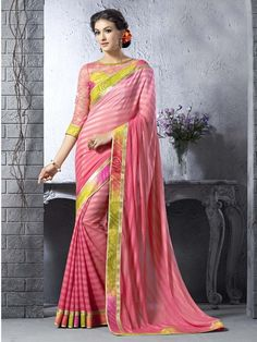 Red Color Party Wear Indian Designer Saree