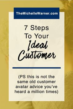Do you want to run screaming from the room every time someone tells you that you need to niche or create your ideal customer avatar? You're not alone. Just click through for a quick and easy guide on how to actually find your perfect customer, and to grab a free worksheet too!