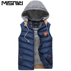 Misniki christmas mens waistcoat casual sleeveless jacket cotton-padded vest coat S-3XL AXP25. Yesterday's price: US $33.83 (27.62 EUR). Today's price: US $21.99 (18.01 EUR). Discount: 35%.