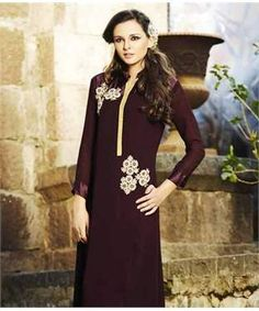 Georgette Kurta | I found an amazing deal at fashionandyou.com and I bet you'll love it too. Check it out!