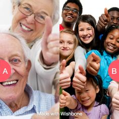 Would you rather be double your age or half your age?  Click here to vote @ http://getwishboneapp.com/share/720756