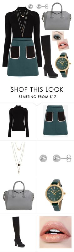 """IntoTown"" by theimaginator ❤ liked on Polyvore featuring Misha Nonoo, Ted Baker, SUGARFIX by BaubleBar, Givenchy and Donald J Pliner"