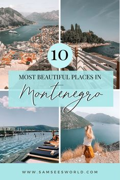 Enjoy these stunning places in Montenegro! From Kotor, to Budva, to Herceg Novi and more. Add these places to your bucket list and get exploring. #Montenegro #Europe #Travel Travel Through Europe, Europe Travel Guide, Europe Destinations, Travel Tips, Travel Guides, Travel Articles, Montenegro Travel, European Road Trip, See World