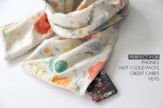 easy scarf sewing tutorial