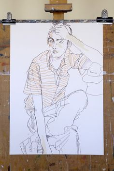 Stinsensqueeze is raising funds for WITHIN – Howard Tangye on Kickstarter! A book revealing the unseen work of Howard Tangye – the influential Saint Martins tutor to generations of famous fashion designers. Illustration Sketches, Graphic Illustration, Illustrations Posters, Art Journal Inspiration, Painting Inspiration, Collages, Poses, Figurative Art, Lovers Art