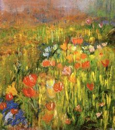 Poppies by Robert Vonnoh 1894