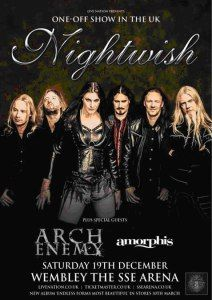 Nightwish announce one-off show in London