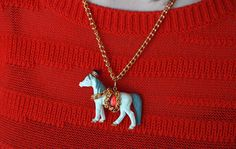 Super Cute Anthro inspired Circus animal necklace!! Endlessly Creative | #darbysmart