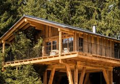 """Treehouses & tree houses to rent: Natural tree house village """"San Luis"""" in South Tyrol – Awesome Vacations - Summer Vacation Woodland House, Forest House, Cool Tree Houses, Tree House Designs, Local Architects, South Tyrol, Wallpaper Magazine, Tree Tops, House In The Woods"""