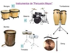 instrumentos musicales de percusion o acusticos (15) Bongos, Drums, Musicals, Music Instruments, Ears, Pokemon, Halloween, Children, Funny Music