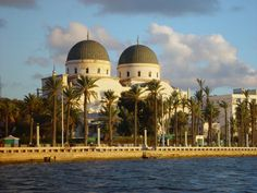 Libya - Benghazi - It was Cyrenaica then and I was christened in the Italian built Benghazi Cathedral shown here. 1950-52.