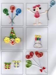 Resultado de imagen para flores sencillas de filigrana o quilling