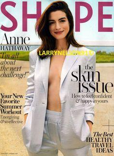 Anne Hathaway covers the June 2019 issue of Shape magazine photographed by Jason Kim. Lindsey Vonn, Shape Magazine, Celebrity Moms, Celebrity Pictures, Celebrity Smiles, Wwe Wrestler, Rachel Pohl, Playboy, Jason Kim