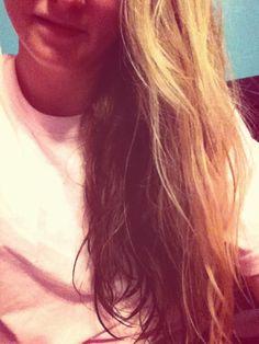 Brown under blonde :)