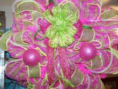 Deco Mesh Wreath   eBay