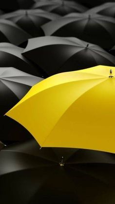 Stand out in a crowd... #yellow