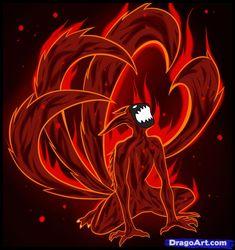 Resultado de imagem para Naruto Kyuubi