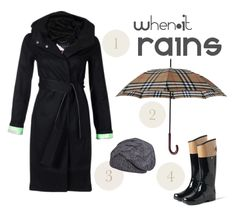 When it rains.... have your outfit ready! My fave rainy fashion items! *allll READY have the BOOTS..... ohYA