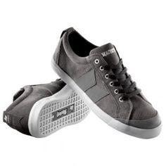 Macbeth Shoes   Macbeth Eliot Premium Shoes - Dark Grey White