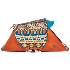 Tiendas de Campaña Camping y Material - Tienda 2 SECONDS EASY 2 personas AZTEQUES QUECHUA - Tiendas de campaña y accesorios