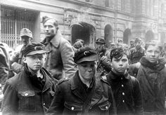 As the Red Army began closing in on Berlin, the city's last defenders were old men and young boys.