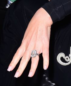 The couple: Mariah Carey and James Packer The ring: A 35-carat emerald-cut diamond set in platinum by designer Wilfredo Rosado.