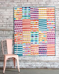 Kaffe Fassett Artisan Quilt by Bijoulovely, inspired by owensolivia.
