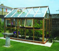 The biggest 6ft wide greenhouse in the Gabriel Ash Essentials range, this 10ft deep model provides ample space for growing a wide range of crops and flowers from seed to fully grown. http://www.gardensite.co.uk/greenhouses/6x10-growhouse-greenhouse-in-cedar-wood.htm