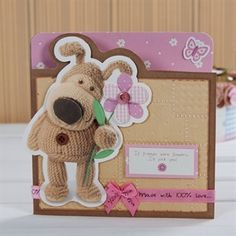 Boofle flower card