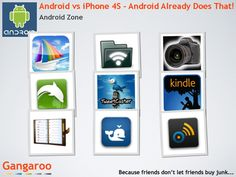 Can you Android phone do what an iPhone 4S can do?  Yes!