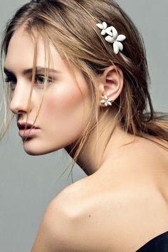 CH Carolina Herrera 'Falling Jasmine' jewellery