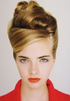 Hairstyles: Vintage Updo for Every Girl | Pretty Designs